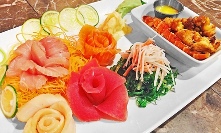 Sushi Dinner for Two or Four or More at Japan Latino Sushi-N-Steak (Up to 41% Off)
