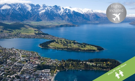 Queenstown: ,099 Per Person for a FiveNight Stay at a 5* Mystery Hotel with Flights