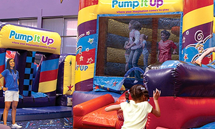 Pump It Up - Elkridge: 5 or 10 Pop-In Playtime Sessions or a Two-Hour Weekday Party for Up to 25 at Pump It Up (Up to 55% Off)