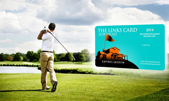 The Links Card Northeast: One or Two Golf-Membership Links Cards with a Lob Wedge or a Hybrid Golf Club (Up to 85% Off)
