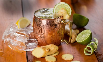 $29.99 for a Set of Two Customized Moscow-Mule Mugs from Moscow Mule Time ($69 Value)