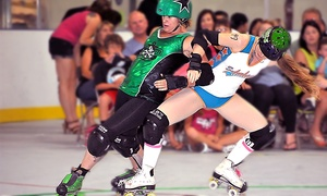 Port City Roller Girls: $20 for Port City Roller Girls Derby Bout for Two at Stockton Indoor Sports Complex on Saturday, July 25 ($30 Value)