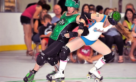 $20 for Port City Roller Girls Derby Bout for Two at Stockton Indoor Sports Complex on Saturday, July 25 ($30 Value)