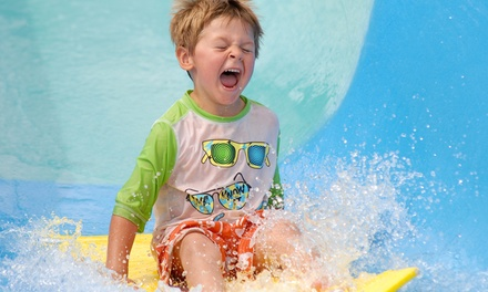 $30 for Two All-Day Water Park Passes to Water Wizz of Westerly Rhode Island ($60 Value)