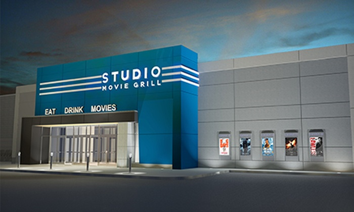 Studio Movie Grill - Multiple Locations: $5 for a Movie Outing with a Ticket at Studio Movie Grill (Up to $10.50 Value)