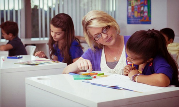 Eye Level Learning Center - Multiple Locations: One Month of Tutoring in Math, Language-Arts, or Both Subjects for Students Aged 3–14 at Eye Level (Up to 76% Off)