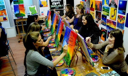 Two-Hour BYOB Painting Class for One or Two at A Painting Fiesta (Up to 46% Off)