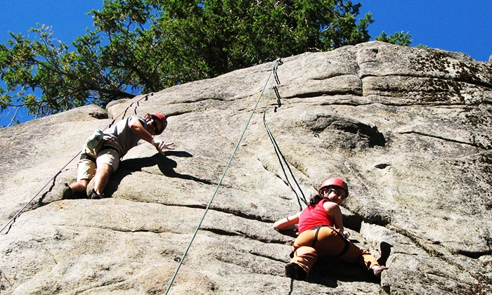 Mountain Madness - Leavenworth: $399 for a Guided Two-Day Rock-Climbing Adventure for Two from Mountain Madness ($590 Value)