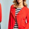 Chaus New York Asymmetrical Zip Jacket