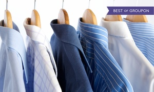 National Yorgeys Cleaners: Dry Cleaning at National Cleaners & Yorgey's Fine Cleaning (50% Off). Two Options Available.