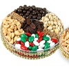 Oh! Nuts Gold Beaded Gift Trays