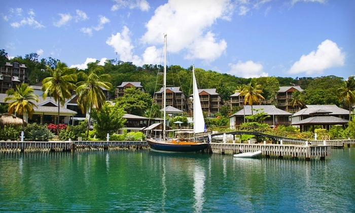 Discovery at Marigot Bay Hotel - Discovery at Marigot Bay Hotel: Four-, Five, or Seven-Night Stay with Optional Resort Credit at Discovery at Marigot Bay Hotel in St. Lucia