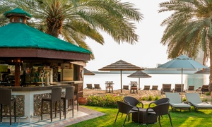 Beach Bar - Le Meridien Abu Dhabi: Full Day Pool and Beach Access with AED 100 Towards Food and Drinks at the Beach Bar - Le Meridien Abu Dhabi