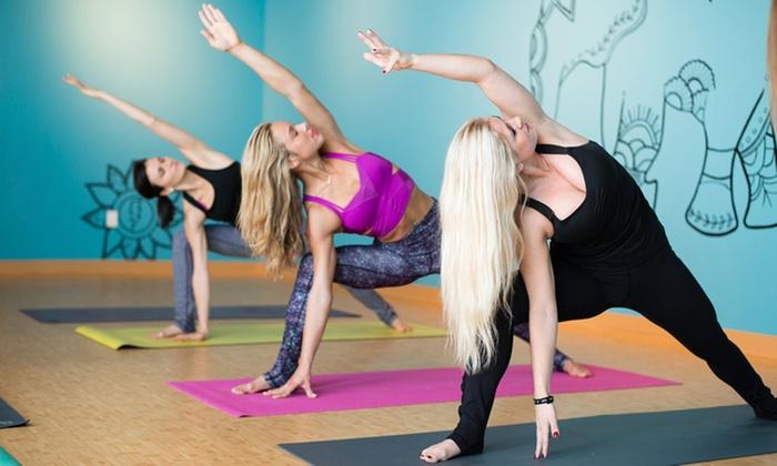 Thunderbolt Power Yoga - Buckhead: $42 for One Month of Unlimited Yoga Classes at Thunderbolt Power Yoga ($115 Value)