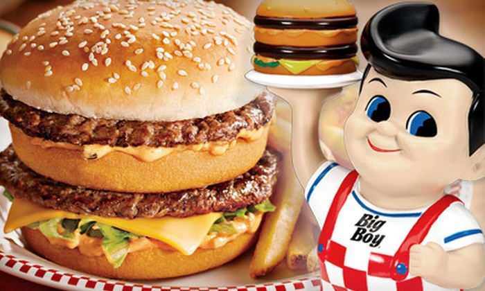 Big Boy - Thurston: $7 for $14 Worth of Burgers, Sandwiches, and Fries at Big Boy