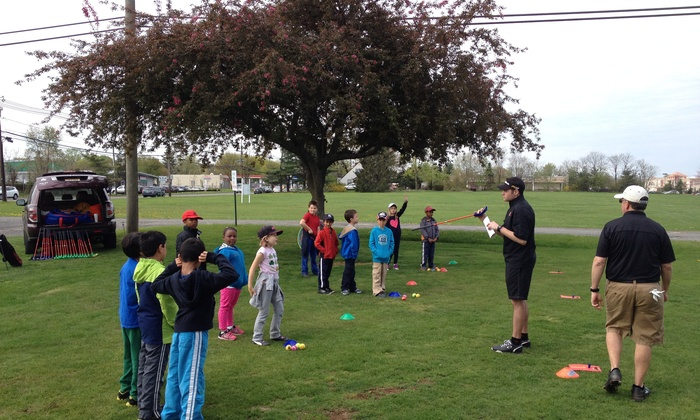 The First Tee Of Raritan Valley - Kenilworth: Five Days of Sports Camp at The First Tee of Raritan Valley (45% Off)