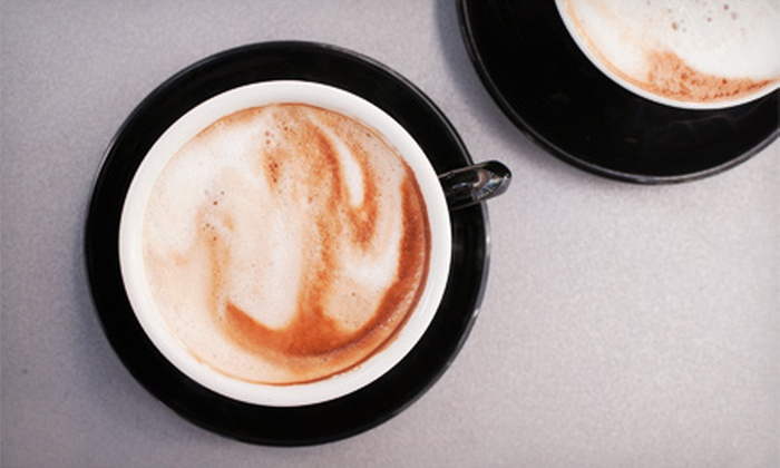 Village Coffee - Farmingdale: Three or Five Groupons, Each Good for $5 Worth of Coffee and Café Food at Village Coffee (Half Off)