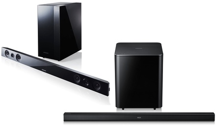 Samsung 2.1-Channel Bluetooth Sound Bars with Wireless Subwoofers from $149.99–$169.99 (Manufacturer Refurbished)