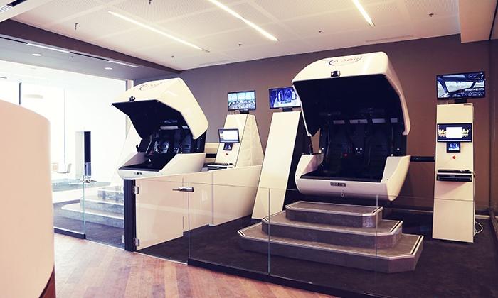 simulateur de vol a360 d s 16e sarl a360 groupon. Black Bedroom Furniture Sets. Home Design Ideas