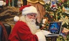 Talk to Santa: $25 for One Live Video Conference Call with Santa Claus from up to Five Remote Locations ($49.95 Value)