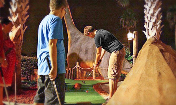 Volcano Island Miniature Golf - Southwest Orange: Round of Mini Golf for Two or Four at Volcano Island Miniature Golf (Up to 60% Off)