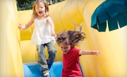 Jump-and-Slide Party Package (a $250 value) - Amazing Jumps in