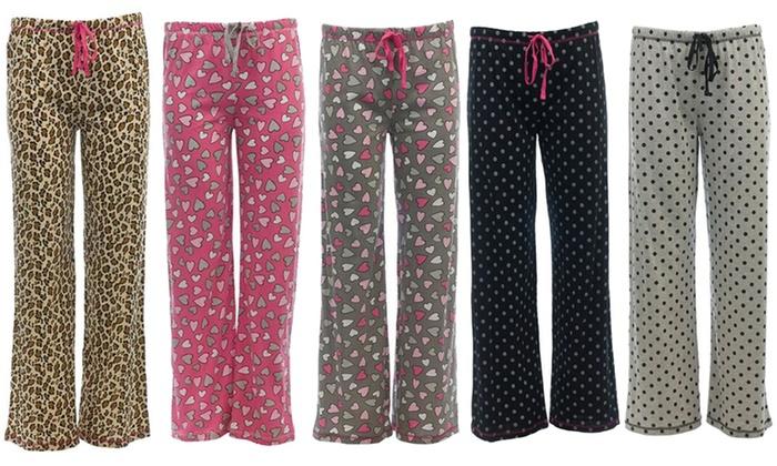 Live Love Plus Size Pajama Pants Groupon Goods