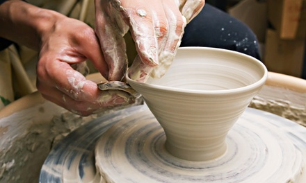 C$54 for a OneHour PotteryWheel Class for Two at Artopia Studios Inc. ($110 Value)