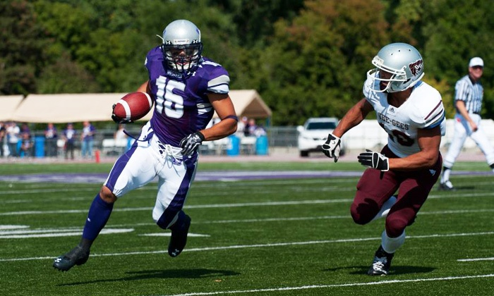 """University of Western Ontario Mustangs Football: Turkey Bowl - TD Stadium: Two Tickets to the University of Western Ontario """"Turkey Bowl"""" Football Game at TD Stadium on October 9 (Up to 53% Off)"""