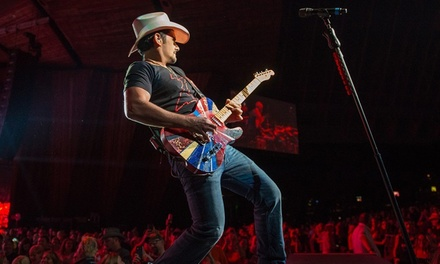 Brad Paisley with Kane Brown & Tyminski on Saturday, August 25, at 7:30 p.m.