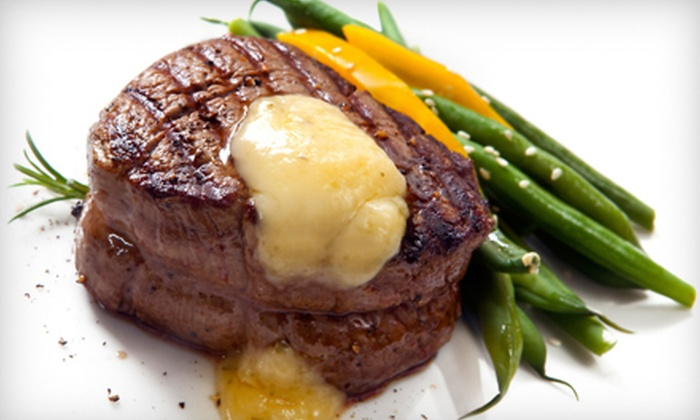 Steak Street - Steak Street: Steak-House Dinner for Four or Two with Appetizers and Entrees or $10 for $20 Worth of Lunch at Steak Street