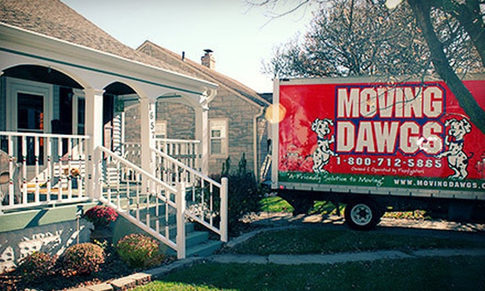 Moving Dawgs - Speedway: Two or Four Hours of Moving Services with Three Men and One Truck from Moving Dawgs (Up to 51% Off)