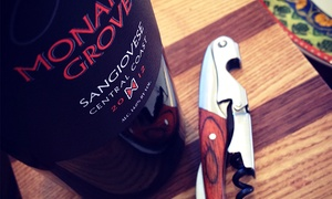 Monarch Grove Winery: $35 for a Deluxe Wine Tasting Package for Two at Monarch Grove Winery ($70 Value)