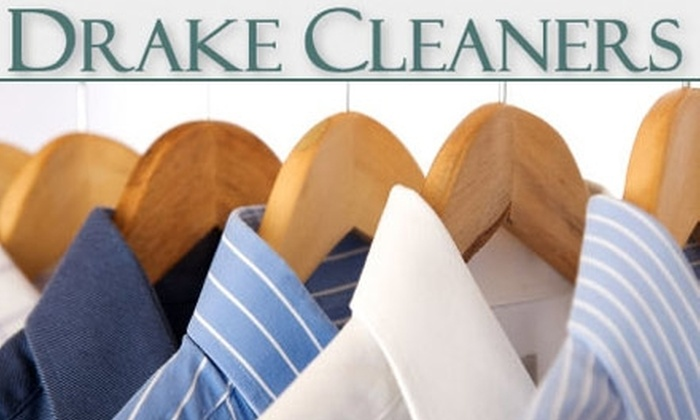 Drake Cleaners - Rhodes Hollywood Springdale Partnership: $25 for $50 Worth of Dry-Cleaning and Laundry Services at Drake Cleaners
