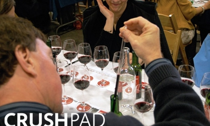Crushpad Winery - Sonoma: $22 for a 90-Minute Blending Session at Crushpad Winery ($45 Value)