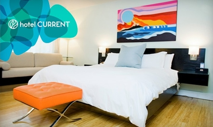 Hotel Current - Park Estates: $125 for One-Night Stay in Lifestyle Room and Choice of Amenity Box at Hotel Current in Long Beach