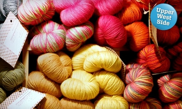 Knitty City - Upper West Side: $10 for $20 Toward Knitting Supplies or Classes at Knitty City on the Upper West Side