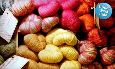 $20 Groupon to Knitty City - Knitty City in Manhattan