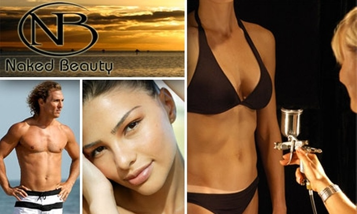 Naked Beauty Tanning - McCormick Ranch: $40 For Two Airbrush Tans at Naked Beauty ($110 Value)