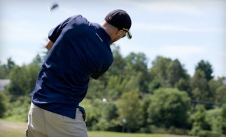Thomas Memorial Golf & Country Club: 9 Holes for 1, Cart Rental, and $10 Lunch Credit - Thomas Memorial Golf & Country Club in Turners Falls
