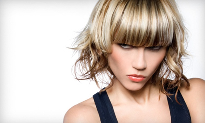 Rockn' Hair - Castle Rock: Haircut Packages with Conditioning, Coloring, or Highlights at Rockn' Hair in Castle Rock (Up to 58% Off)