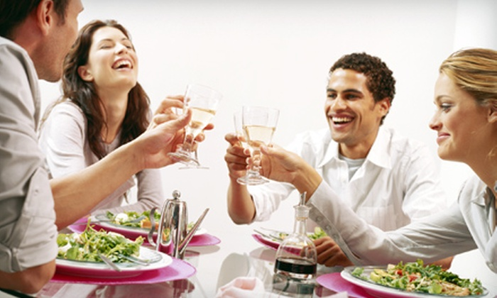 Hollywood Cooking Classes - Hollywood: $50 for a Celebrity-Chef-Taught Class with Four-Course Meal from Highlands Hollywood Cooking Classes ($104 Value)