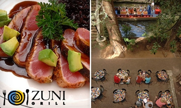 Zuni Grill - Downtown: Authentic Southwestern Fare at Zuni Grill. Choose Between Two Options.