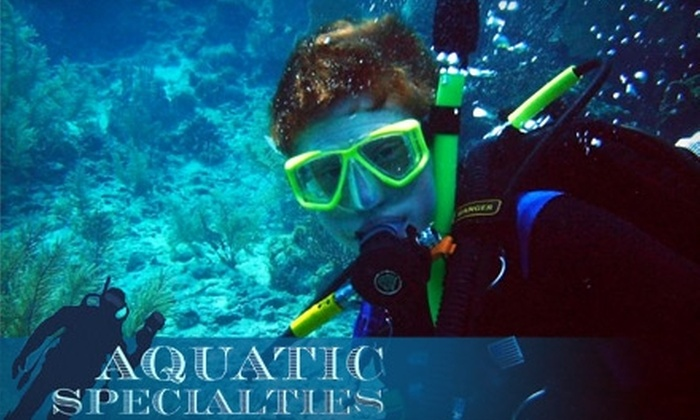 Aquatic Specialties - Milford: $25 for Introductory Scuba Lesson at Aquatic Specialties in Merrimack