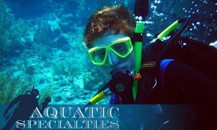 Aquatic Specialties - Milford: $25 for Introductory Scuba Lesson at Aquatic Specialties in Merrimack