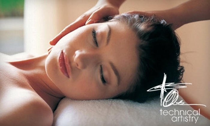 Technical Artistry Salon and Micro Spa - Central Area: $40 for the Hour of Heaven Package from Technical Artistry Salon and Micro Spa ($80 Value)