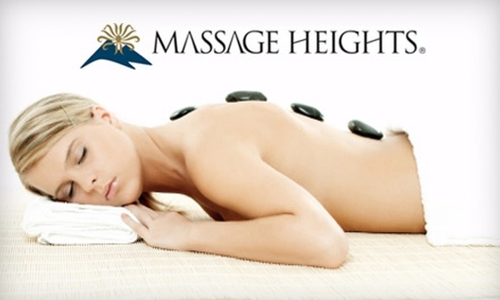 Massage Heights - Adams: $54 for a 60-Minute Massage Plus Hot Stones at Massage Heights