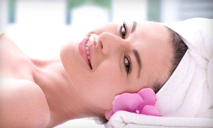 Mellow Me Out - Multiple Locations: $49 for a Spa Package with a Foot Soak, Scrub, Massage, and Organic Chocolate Facial at Mellow Me Out ($100 Value)
