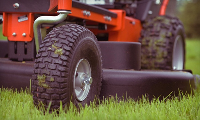Premium Lawn Solutions - Ann Arbor: One or Three Lawn-Mowing Sessions for Up to a Half Acre (Up to 52% Off)