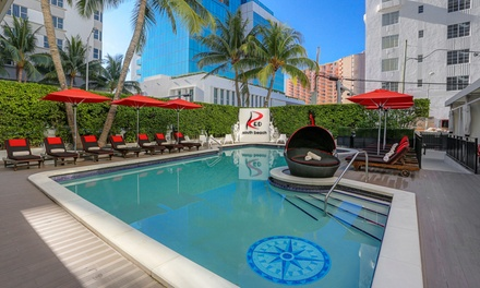 Stay at Red South Beach Hotel in Miami Beach, FL. Dates into December.